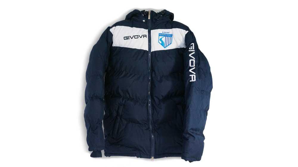 MUFC Puffer Jacket – $80