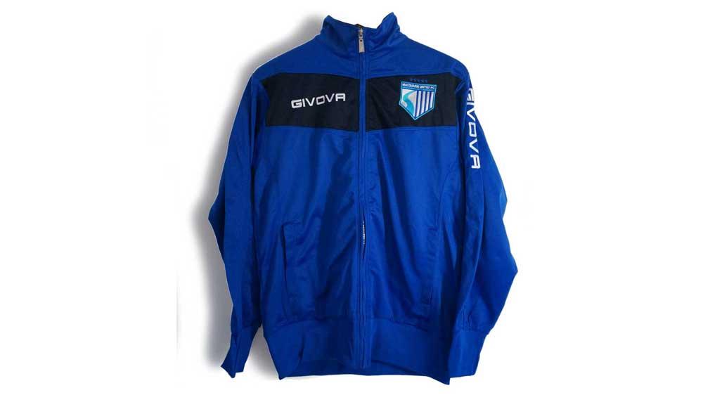 MUFC Givova Tracksuit Set (Top and Pants) – $60